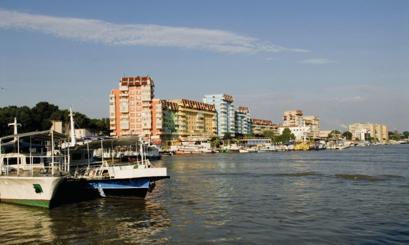 Port sur le Danube.