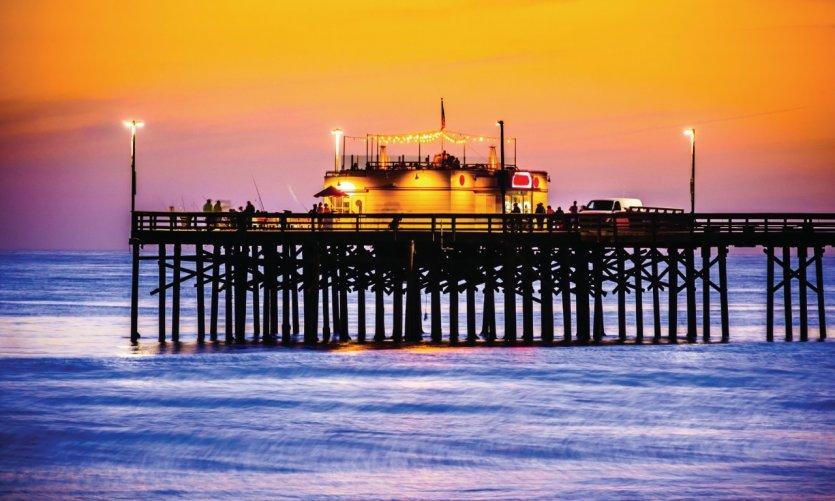 Balboa Pier, Newport Beach.