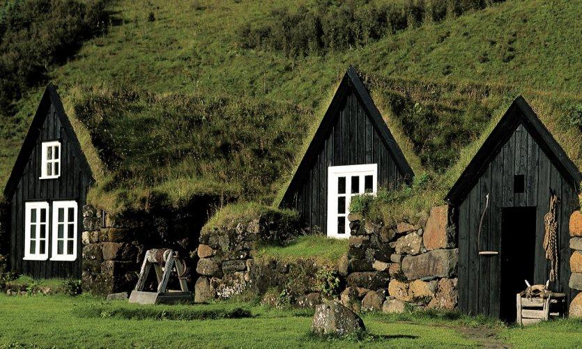 Maisons traditionnelles.