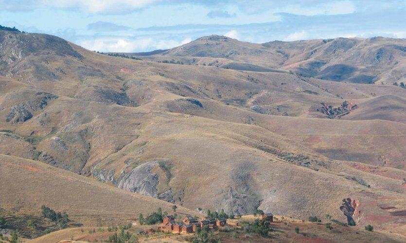 Paysages grandioses des hautes terres