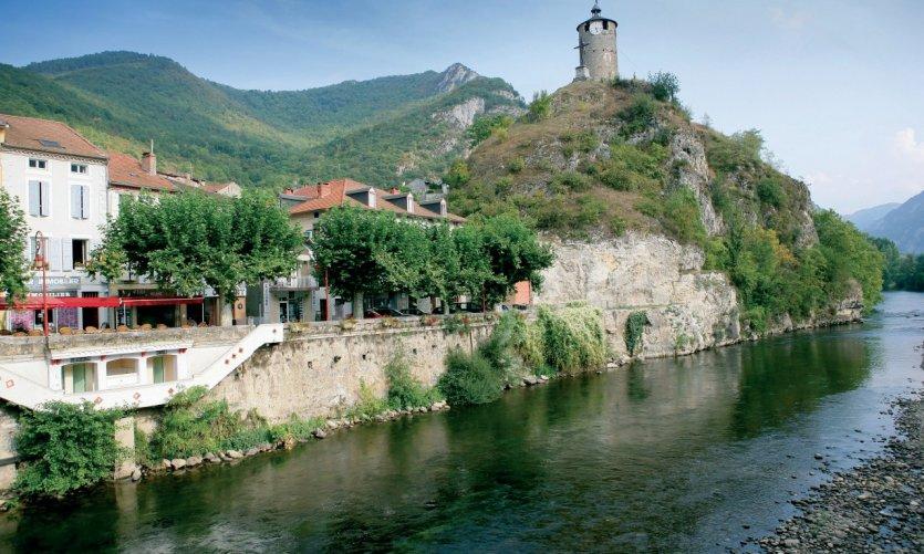 La tour du Castella - Tarascon-sur-Ariège