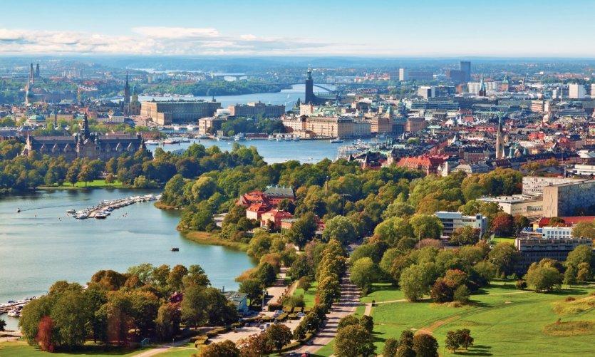 Panorama de Stockholm.