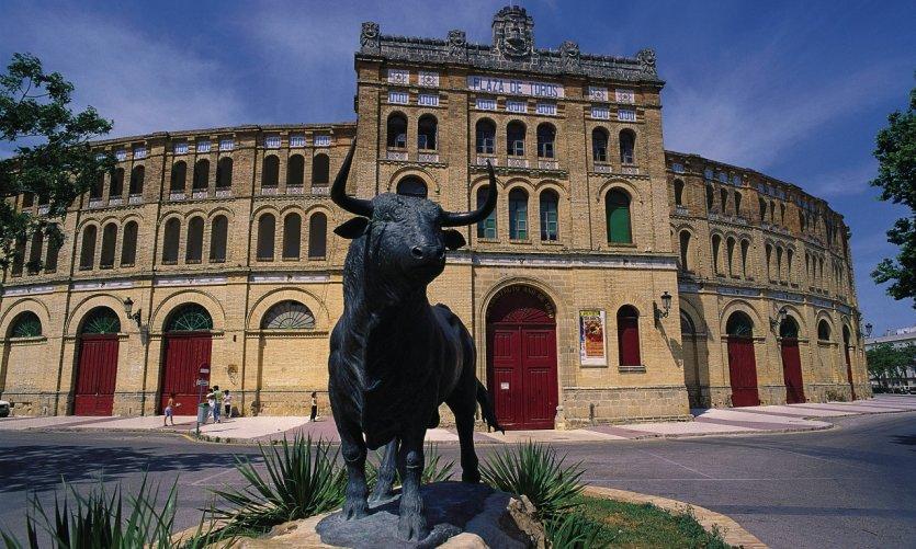 Real Plaza de Toros.