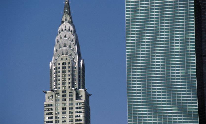 The chrysler Building is the favourite skyscraper of New Yorkers.