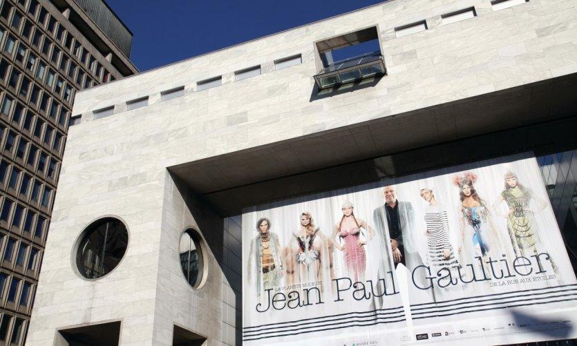Exposition Jean Paul Gaultier au Musée des beaux-arts de Montréal.