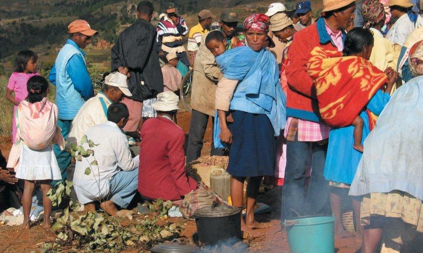 Rassemblement pour un famadihana