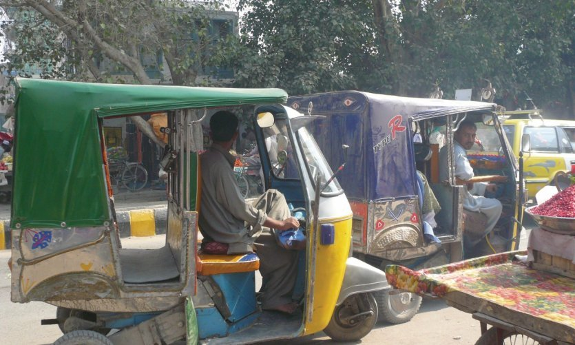 <p>One of Jalalabad's locomotion means Pakistan's influence.</p>