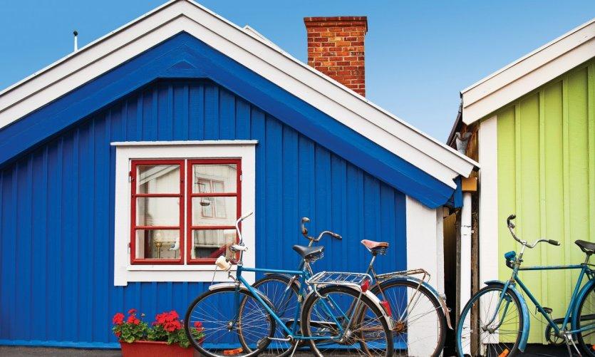 Maisons en bois de Karlskrona.