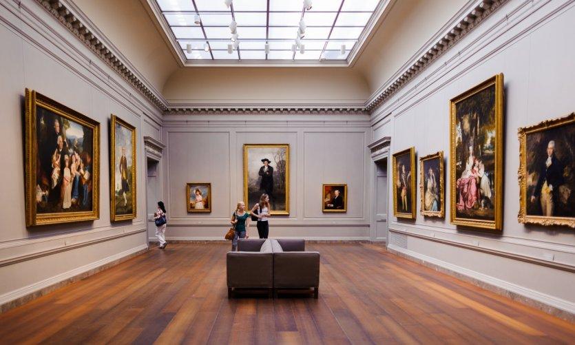 La National Gallery of Art de Washington.
