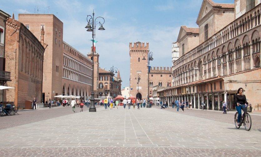 Piazza Trento e Trieste, Ferrara.