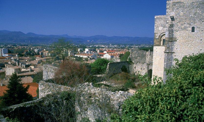 Vue de Montélimar