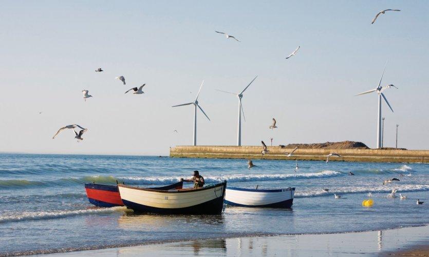 Flobards et éoliennes