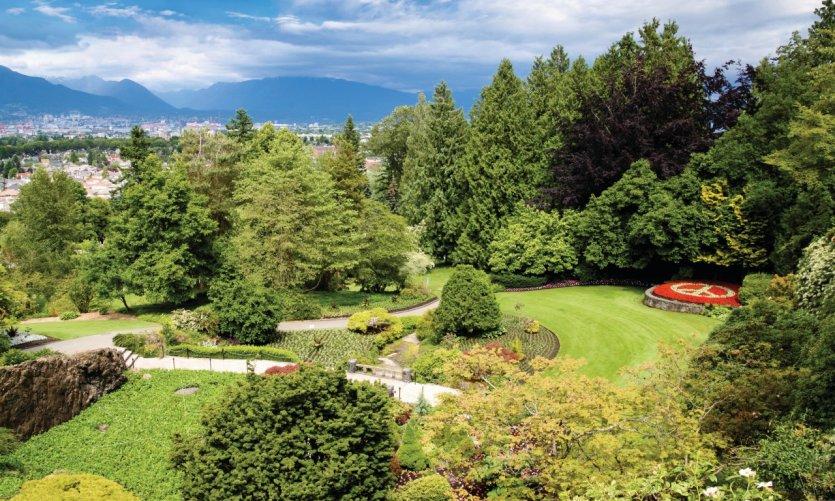 Parc Queen Elizabeth, Vancouver.