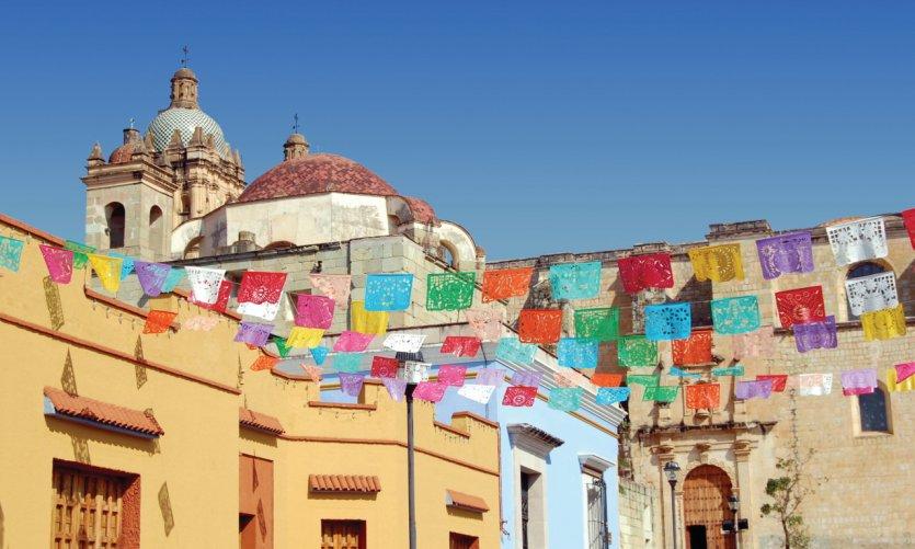 Eglise Santa Domingo à Oaxaca.