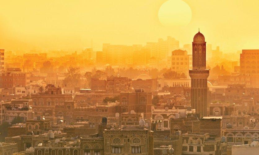 <p>Sanaa, capital política del Yemen.</p>