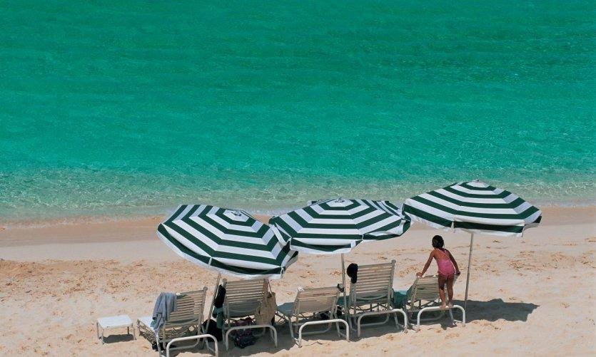 <p>Playa de Nassau.</p>