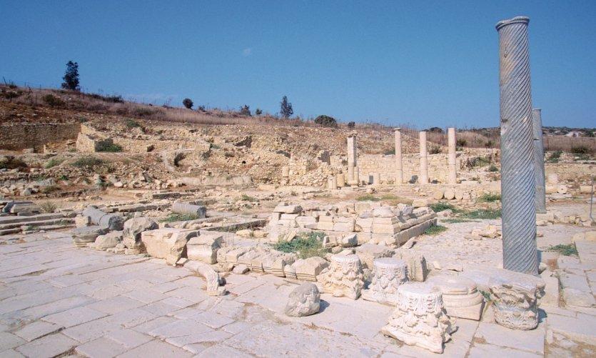 <p>Site archéologique d'Amathonte.</p>