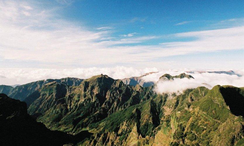 Montagnes de Madere
