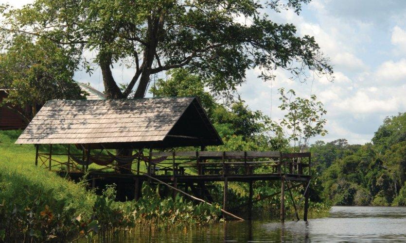 Rivière Tapanahony.