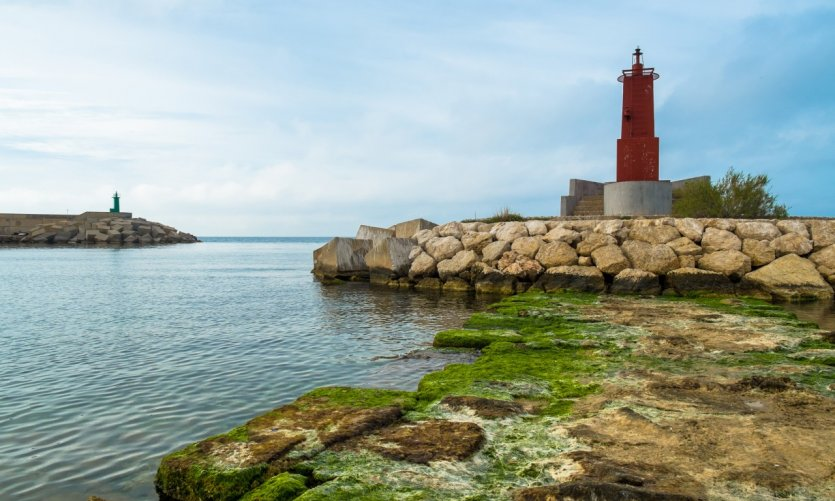 Petit phare sur la Costa Blanca.