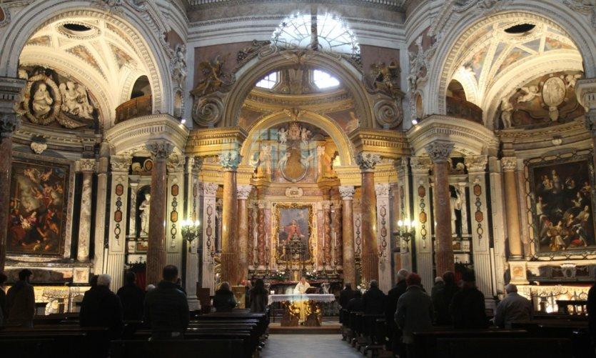 Cathédrale Saint-Jean-Baptiste de Turin.