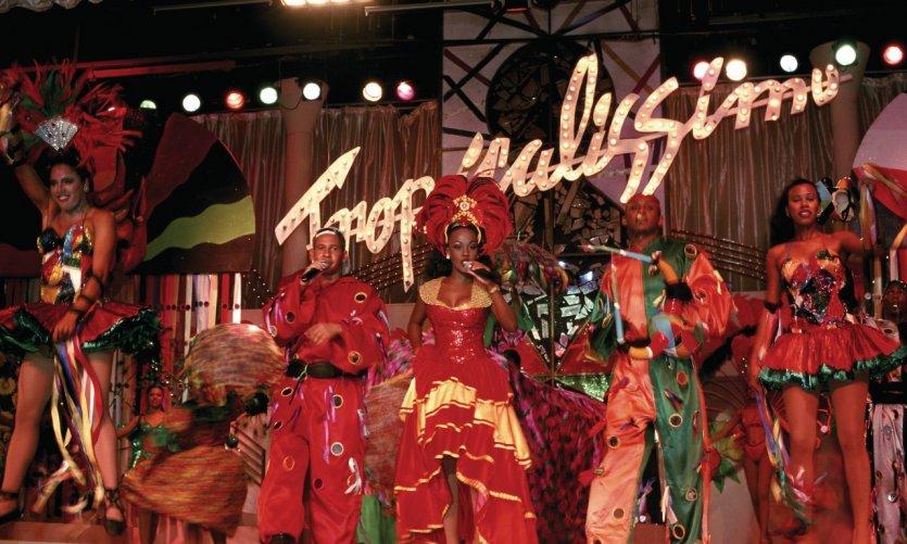 <p>Folclore local en Punta Cana.</p>