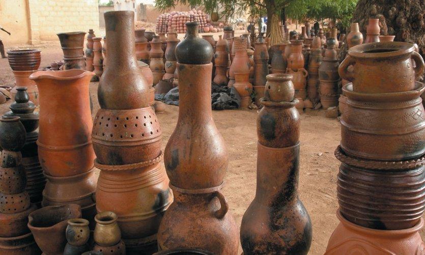 Les fameuses poteries de Ségou
