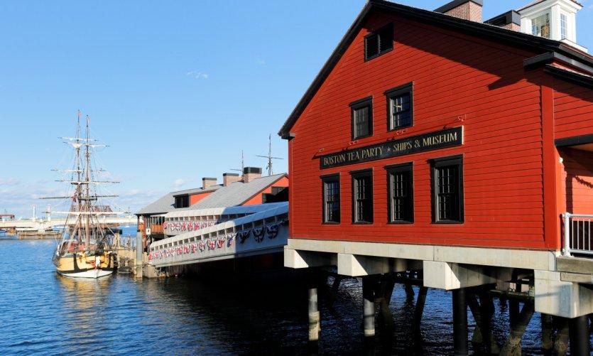 Boston Tea Party Ships & Museum.