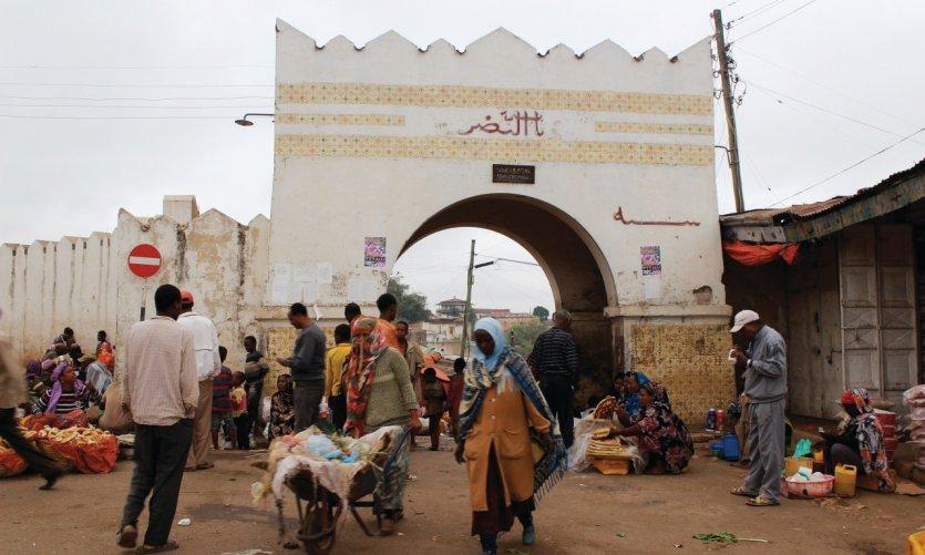 L'environnement architectural unique d'Harar lui a valu d'être inscrite par l'Unesco sur la liste du Patrimoine mondial de l'humanité.