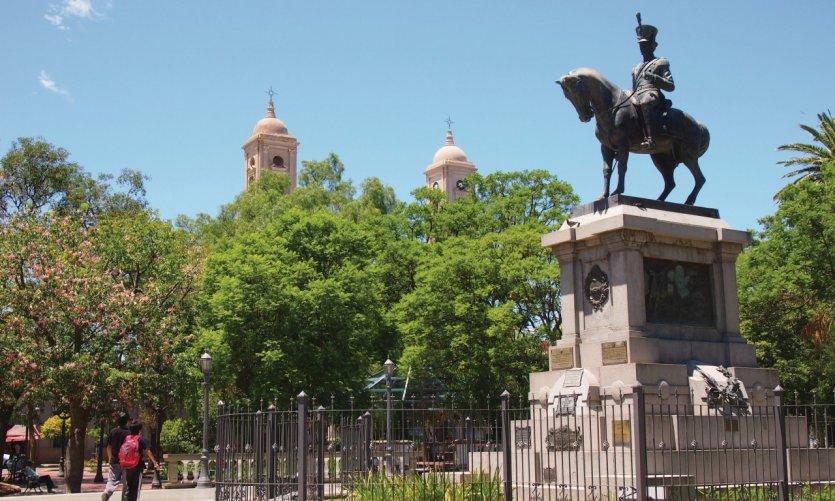 Plaza Pringles.