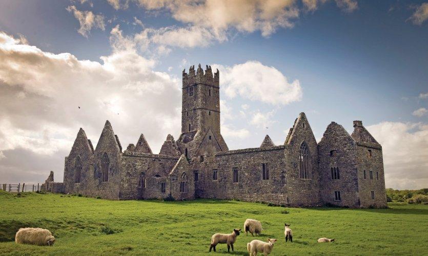 Monastère de Ross Errily dans le comté de Galway.