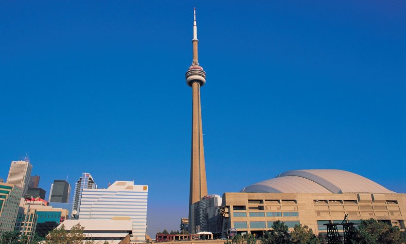 Rogers Centre et CN Tower.