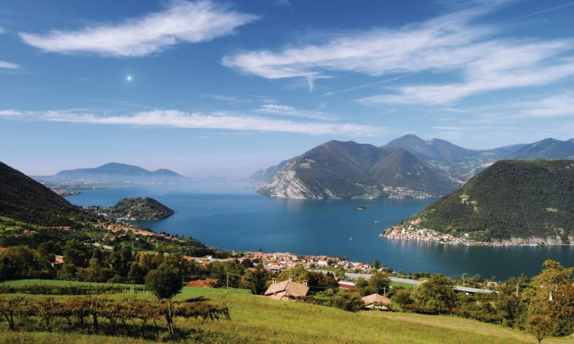 Lac d'Iseo.