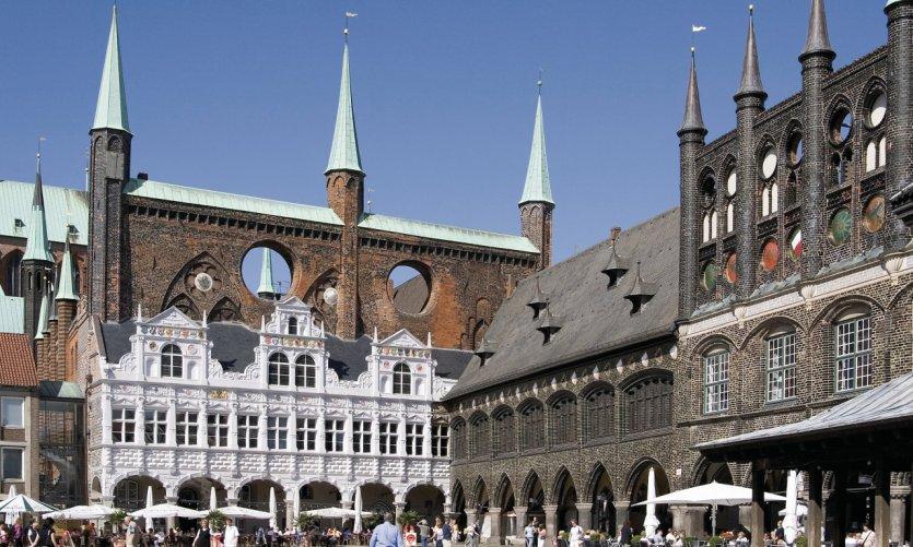 Rathaus de Lübeck.