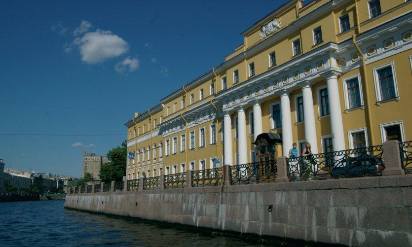 <p>Palais Youssoupov.</p>