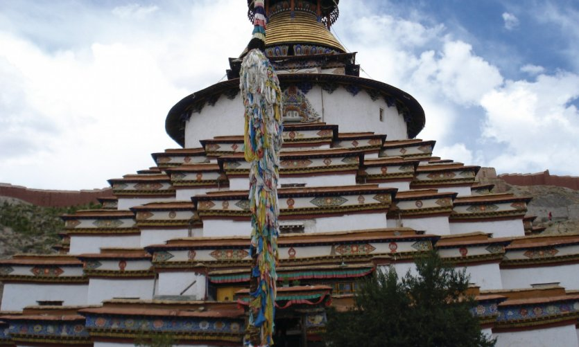 <p>Stupa de Shigatse.</p>