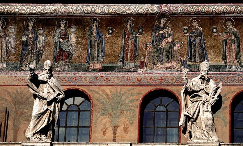 Église Santa Maria in Trastevere.