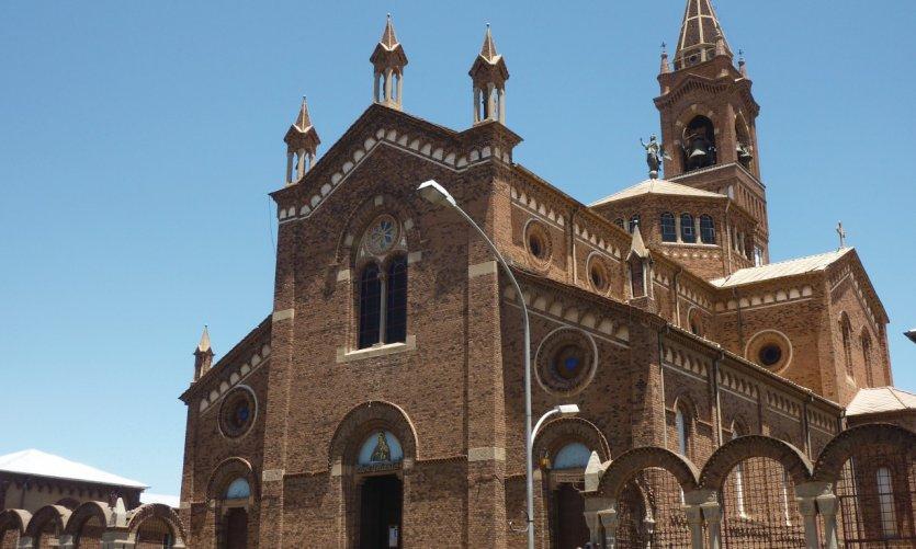 <p>Cathédrale catholique Sainte Marie.</p>