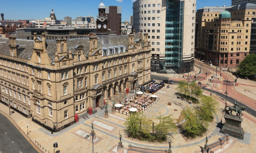 Leeds City Square.
