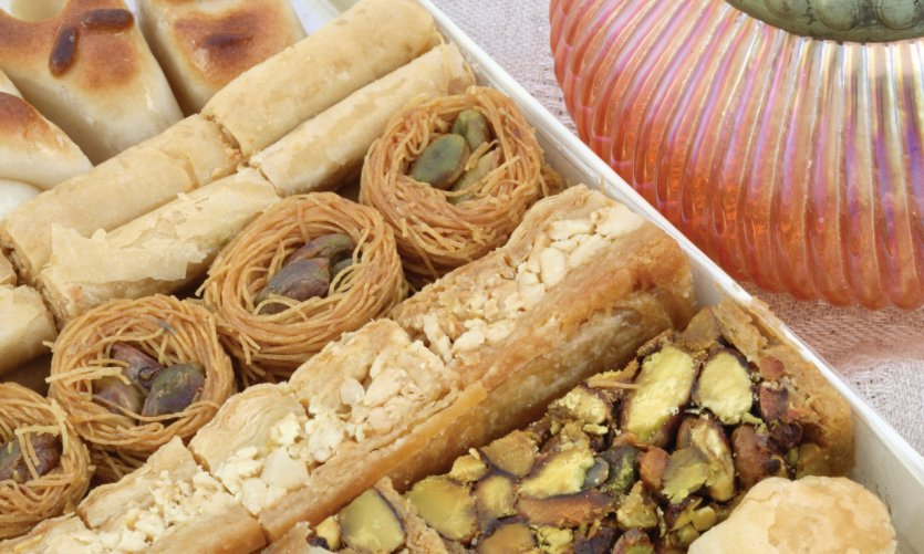 Patisseries syriennes.