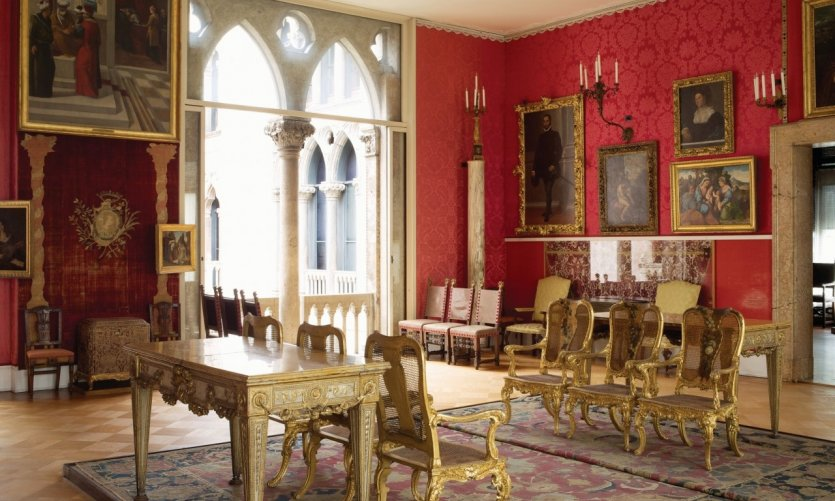 Titian Room, Isabella Stewart Gardner Museum, Boston.