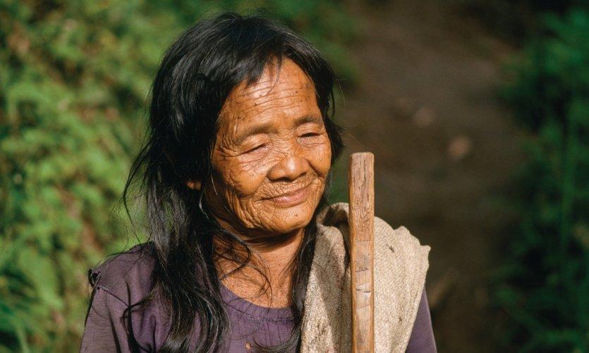 Mujer Ifugao en Batad.