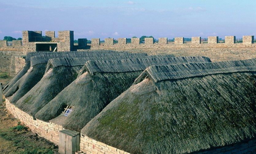 Eketorp, village fortifié de l'âge de fer.