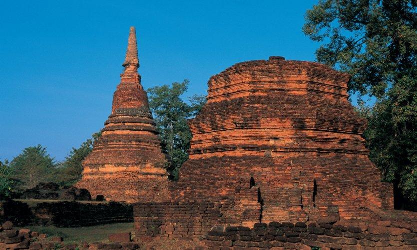 Historic park of Kamphaeng Phet.