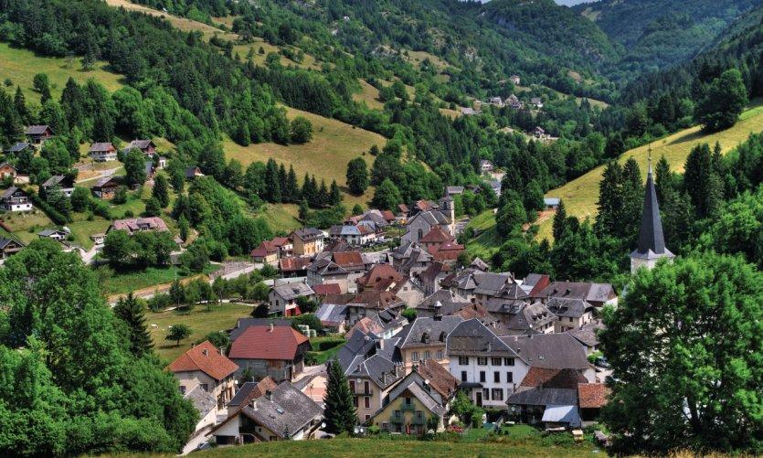 Le village de Saint-Pierre d'Entremont
