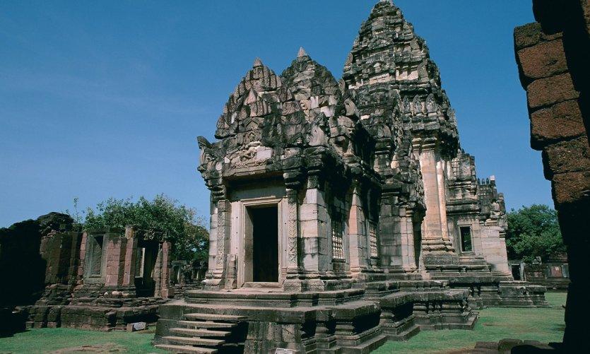 La ville de Phimai abrite un superbe temple khmer.