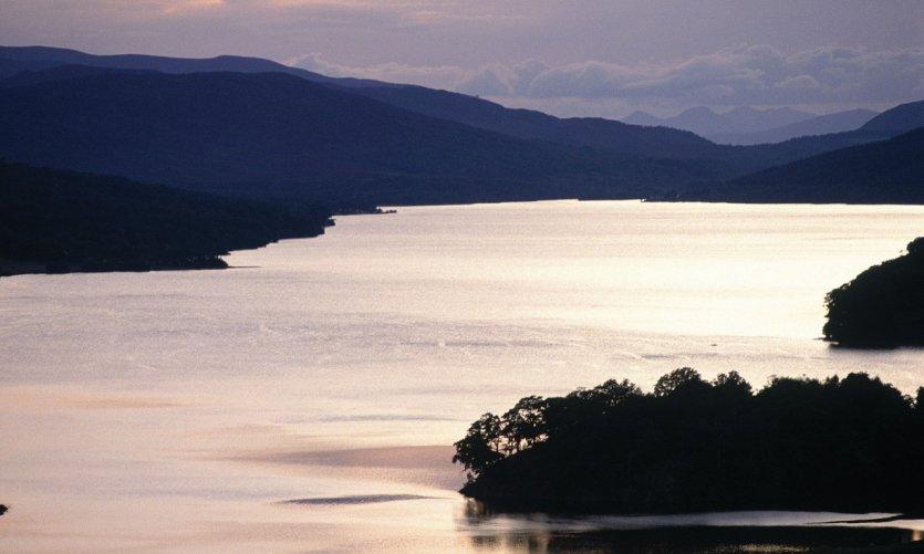 Queen's view, Loch Tummel.