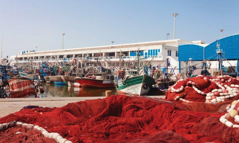 Le port de pêche de Casablanca.