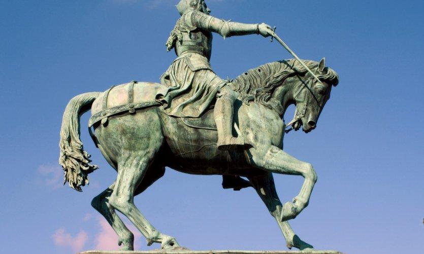 La statue de Jeanne d'Arc - Orléans