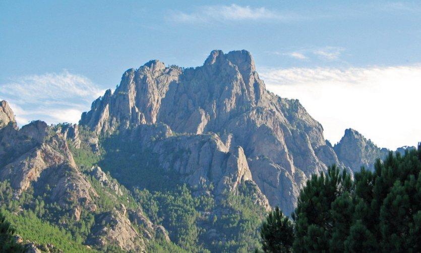 Le massif de Bavella